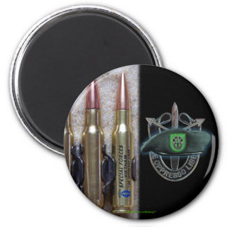 10th special forces group green berets sf sfg 2 inch round magnet
