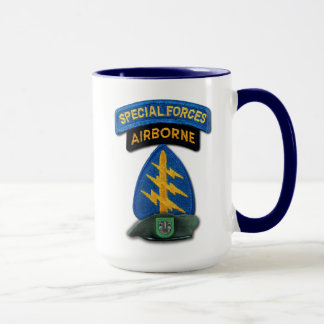 10th Special Forces Group Green Berets SFG SF Vets Mug