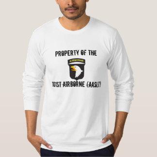10x10_101st_Airborne-Logo_V01, PROPERTY OF THE,... T-Shirt