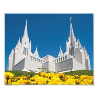 """10X8"""" Professional Photo of San Diego LDS Temple"""