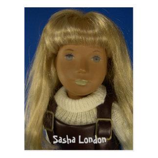 110-4 Sasha London postcard