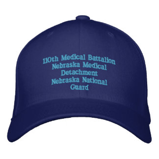 110th Medical Detachment Embroidered Hat