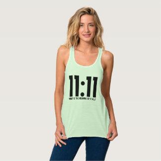"""""""1111 T-shirt"""" Tank Top"""