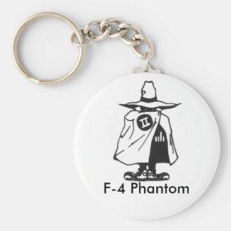 1113, F-4 Phantom Basic Round Button Keychain