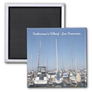 1132, Fisherman's Wharf - San Francisco Square Magnet