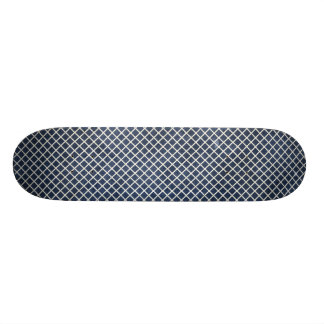 1155 NAVY BLUE GRID PAPER PATTERN TEMPLATE TEXTURE SKATE BOARD DECK