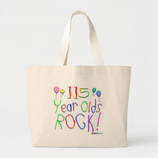 115 Year Olds Rock! Tote Bag