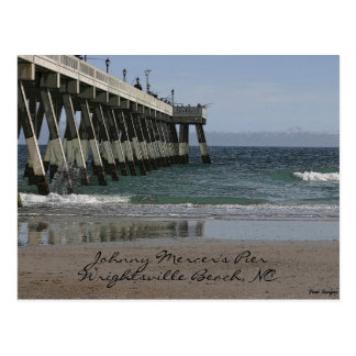 116_1629 A, Johnny Mercer's Pier, Wrightsville ... Postcard