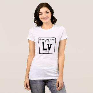 116. Livermorium element T-Shirt ..png