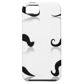 116Set of Mustaches_rasterized iPhone 5 Cover