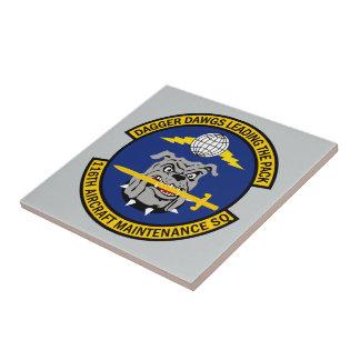 116th Aircraft Maintenance Squadron Ceramic Tiles