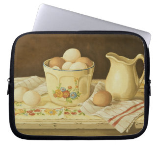 1175 Bowl of Eggs & Pitcher Computer Sleeves