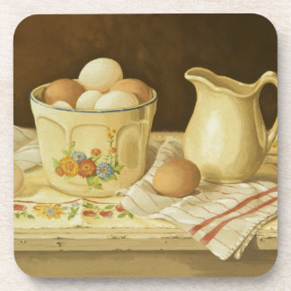 1175 Bowl of Eggs & Pitcher Drink Coaster