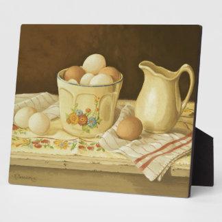 1175 Bowl of Eggs & Pitcher Plaques