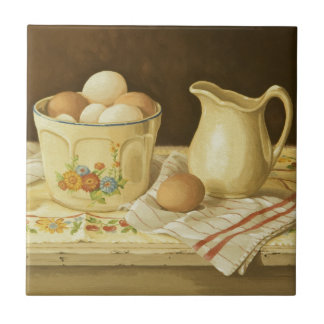 1175 Bowl of Eggs & Pitcher Tiles