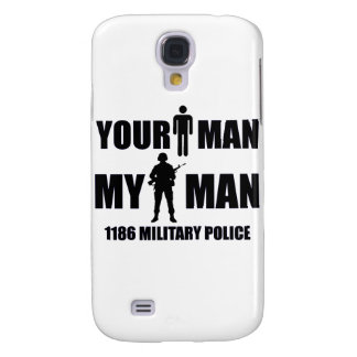 1186 Military Police My Man Galaxy S4 Case