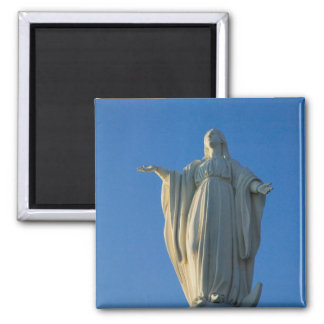 118-foot statue of the Virgin Mary on San Magnets