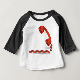 118Red Rhone _rasterized Baby T-Shirt