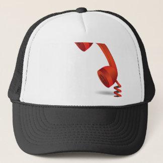 118Red Rhone _rasterized Trucker Hat