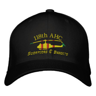 118th AHC Vietnam UH1 Embroidered Hat