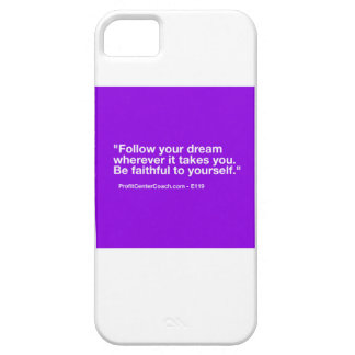 119 Small Business Owner Gift - Follow Dream iPhone 5 Cover