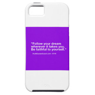119 Small Business Owner Gift - Follow Dream iPhone 5 Covers