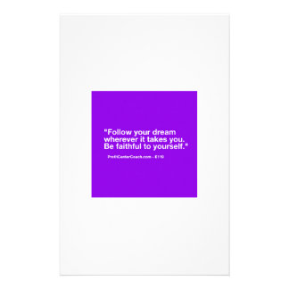 119 Small Business Owner Gift - Follow Dream Stationery