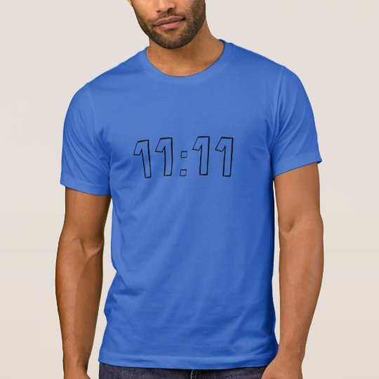 11:11 Men's Alternative Apparel Crew Neck T-Shirt