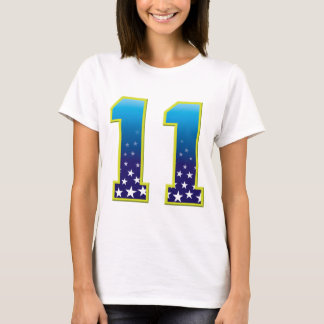 11 Age Star T-Shirt