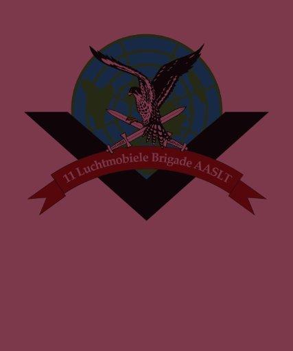 11 air-mobile one brigade AASLT 7 Dec division T-shirt
