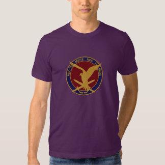 11 air-mobile one brigade memory emblem t shirt