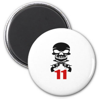 11 Birthday Designs Magnet