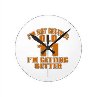11 I Am Getting Better Wallclock