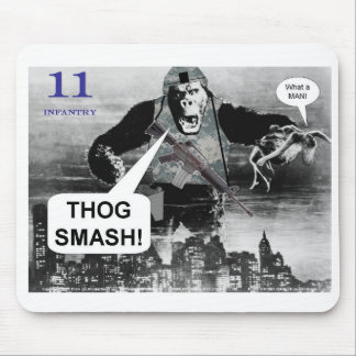 11 Infantry Mouse Pad