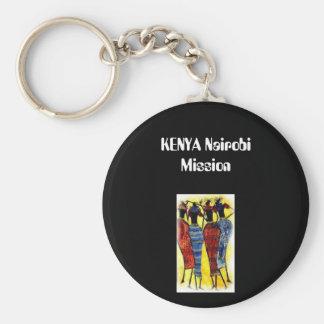 11, KENYA Nairobi Mission Keychain