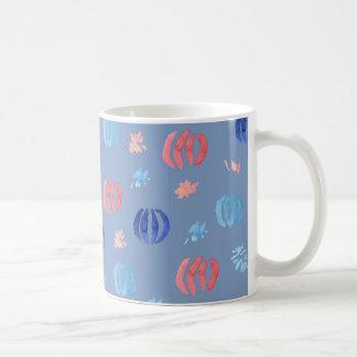 11 oz classic mug with Chinese lanterns