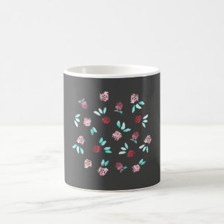 11 oz classic mug with clover flowers