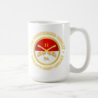 11 PA Cavalry Coffee Mug