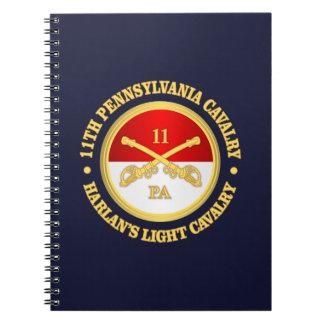 11 PA Cavalry Notebooks