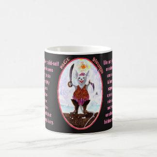11. Page of Swords - Alice tarot Coffee Mug