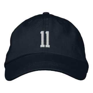 11 sports cap embroidered hats