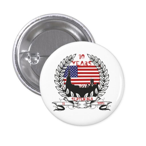 11 to september 10 years pinback buttons