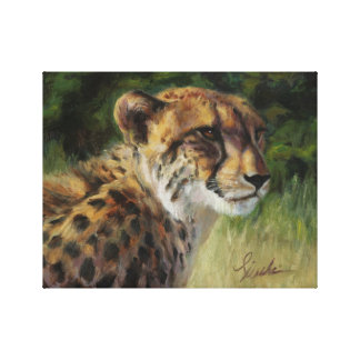 "11"" x 14"" Cheetah Canvas Print"