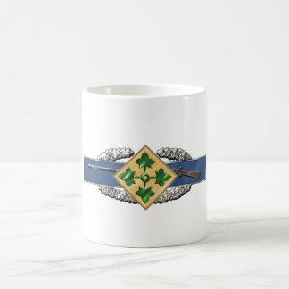 11B 4th Infantry Division Coffee Mug