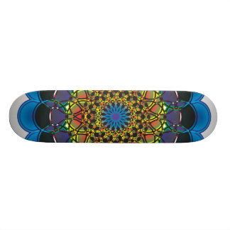 11n8a Digital Doodle Custom Skate Board