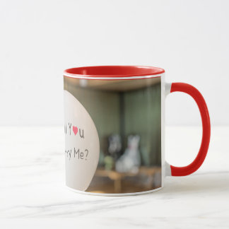 11oz Custom Photo Big Question Red Mugs By Zazz_it
