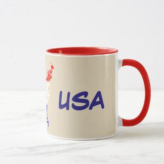 11oz Custom USA By Zazz_it Mug