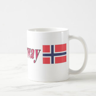11oz Mug With Flag Norway Flag Design