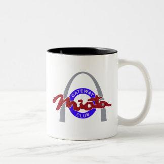 11oz or 15oz Two-Tone Double Logo Mug