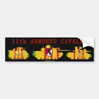 11th ACR VSR Armoured Vehicles Bumper Sticker